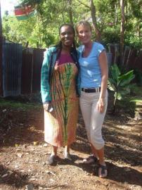 Mathare Valley, Brenda and Jane