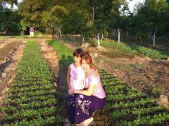 Mary and Brenda in Burma